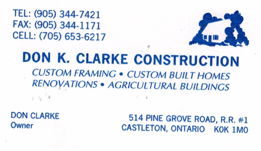 Don K. Clarke Construction