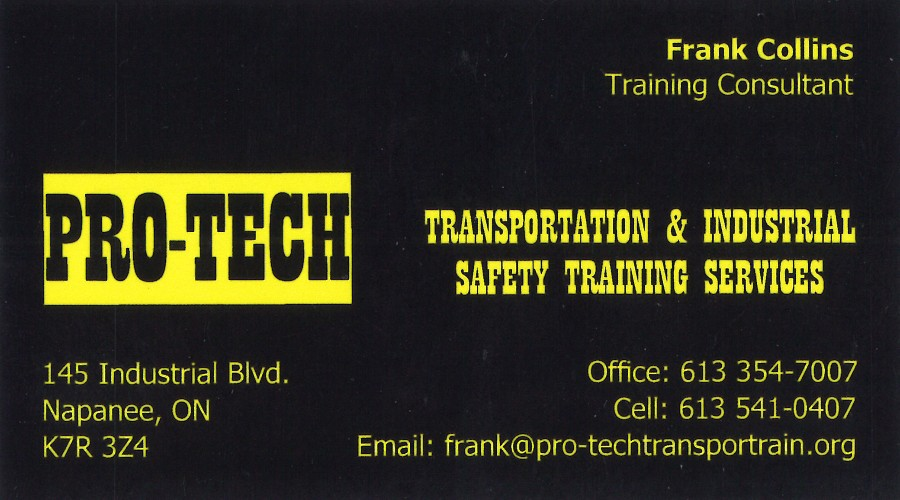 PRO-TECH Transportation & Industrial Safety Training Services